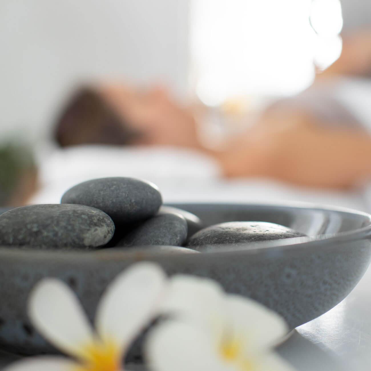 Affinity Treatment hot stones